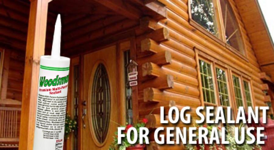 woodsman is elastic log caulk